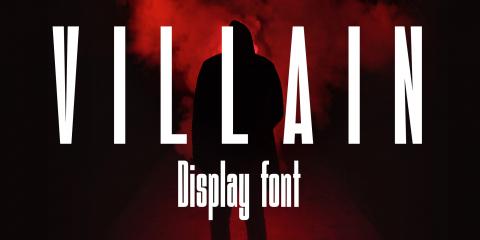 Villain Font